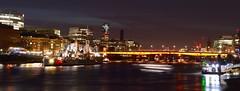 Boat Trails (sarahfouracres) Tags: city longexposure light london night photography long exposure trails lighttrails nikond3200 boattrails