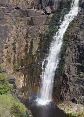 Apsley Falls Rainbow (Kaptain Kobold) Tags: kaptainkobold falls waterfall apsleyfalls oxley river scenery nature landsape gorge geology slate rock