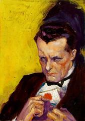 Demented Gentleman by Dalton Stevens (Tom Simpson) Tags: daltonstevens pulp pulpart vintage illustration art painting demented gentleman