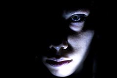 Selfie (Anna_Ferro) Tags: selfie face portrait eyes girls hardlight contrast highcontrast