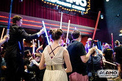 Carrie Fisher Lightsaber Vigil at Alamo Drafthouse South Lamar in Austin, TX (Alamo Drafthouse Cinema) Tags: alamodrafthousecinema carriefisher lightsaber vigil starwars leia