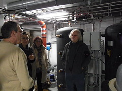 Discussion about the implemented technology (Sustainable sanitation) Tags: greywater wastewater passive house treatment service water frankfurt am main frankfurtmain heat recovery