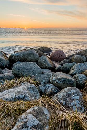 Soluppgång över Kalmarsund