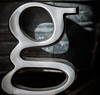 G is for Me! (glo photography) Tags: california g gloriasalvanteglophotography apartment aroundthehouse domestic figurine home initial letterg lowercase shadow metal metallic