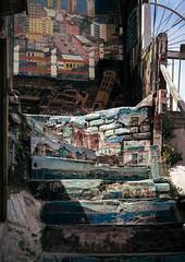stairs & stories (chrispenker) Tags: 2013 chile dezember lateinamerika reise stadt südamerika valparaiso