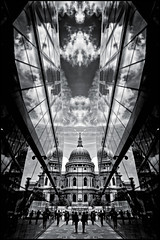 UK - London - One New Change 01_flipped mono_DSC0561 (Darrell Godliman) Tags: uklondononenewchange01flippedmonodsc0561 framed framing flipped mirrored blackandwhite monochrome mono bw onenewchange jeannouvel stpaulscathedral stpauls contemporaryarchitecture modernarchitecture london uk unitedkingdom gb greatbritain england europe architecture building ©dgodliman darrellgodliman wwwdgphotoscouk dgphotos allrightsreserved copyright travel tourism britishisles capital city instantfave omot flickrelite travelphotography travelphotographer architecturalphotography architecturalphotographer