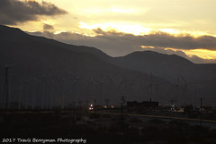 Eastbound between Cabazon and West Palm Springs, CA (Travis Berryman) Tags: unionpacific beaumonthill uprr upyumasub desertrailroading