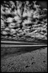 endless (ian.williams040) Tags: sonya6000 sky contrast clouds sand grain monochrome blackandwhite crosby sony a6000 beach sun water sea canonultrawideanglelens ultrawideangle