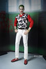 Suicide Squad Joker 2016 Redressed (Culte De Paris) Tags: hot toys suicide squad the joker arkham asylum ver 2016 toy fair exclusive movie dc comics cosplay superhero character batman action figure gangster harley quinn mms373 jared leto