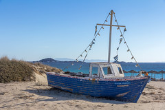 IMG_7547.jpg (Dominik Wittig) Tags: september2016 holidays meer naxos kykladen plaka strand urlaub sea boot beach greece 2016 griechenland september cyclades