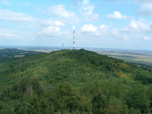 Látkép a Magos-hegyi kilátóból