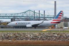 N961NN (thokaty) Tags: kbos bostonloganairport americanairlines boeing b737 b738 b737ng b737800 b737823 n961nn eis2014 dfw