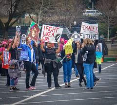 2017.01.21 Women's March Washington, DC USA 00080