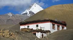 House in the village Langza, India 2016 (reurinkjan) Tags: india 2016 ©janreurink himachalpradesh spiti kinaur ladakh kargil jammuandkashmir langzavillage himalayamountains himalayamtrange himalayas landscapepicture landscape landscapescenery mountainlandscape