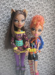School's Out Clawdeen & Sisters Pack Howleen (lita_liu) Tags: mattel monster high doll clawdeen wolf howleen schools out sisters pack