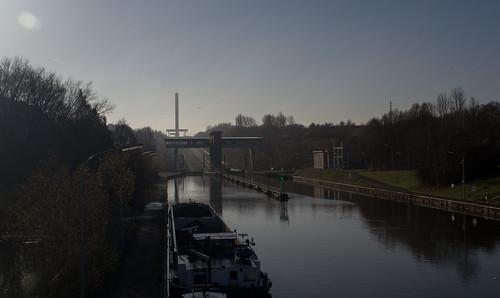 Belgium Ronquières canal incline (#0208)