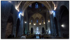 Interior, Església de St. Pere, Figueres (Jesús Cano Sánchez) Tags: elsenyordelsbertins canon ixus310hs catalunya cataluña catalonia espanya españa spain gironaprovincia emporda ampurdan altemporda altoampurdan figueres esglesia iglesia church gotic gotico gothic