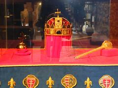 A Szent Korona másolata a Fellegvárban