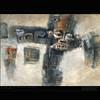 Mask_001 (behzad sohrabi) Tags: sketching drawing painting artpainting art modernpainting modern abstract abstractpainting printcanvas livingroom colorful vintage traditional color colours artwork conceptart behzadsohrabi