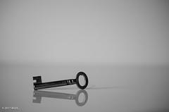 The Lost Symbol (BGDL) Tags: lightroomcc nikond7000 bgdl monochrome blackandwhite afsmicronikkor40mm128g danbrown key reflection 7daysofshooting week27 abooktitle blackandwhitewednesday
