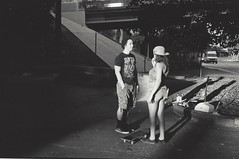 Lovers (diehesh) Tags: analog bw black white 400 iso 400iso