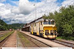 LPO 411S | trať 292 | Hanušovice (jirka.zapalka) Tags: trat292 cd stanice hanusovice pracovnimechanizmy train summer czech