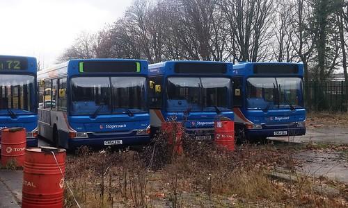 Stagecoach 34667 CN54EDL - Stagecoach 34666 CN54EDK -Stagecoach  34665 CN54EDJ