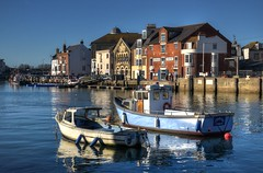 The Old Harbour, Weymouth, Dorset (Baz Richardson (catching up again!)) Tags: dorset weymouth oldharbourweymouth harbours riverwey smallboats buildings architecture rivers