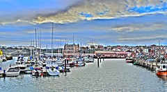 Scarborough Harbour (Paul Thackray) Tags: yorkshire northyorkshire scarborough harbour grandhotel 2016
