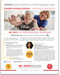 STROKEworkshop_FlyerAD_20Jan17_thumbnail_L (ACRM-Rehabilitation) Tags: stroke rehabilitation acrmprogressinrehabilitationresearchconference acrm science scientificresearch knowledge translation