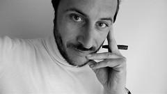 look (ioriogiovanni10) Tags: foreground premierplan primerplano cara face yeus ojos eyes look sguardo occhi primopiano lumix canon blackewhite biancoenero monocromatico white nikon faccia viso