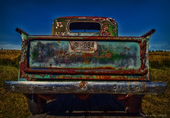 Looking For The Last Road To Nowhere (jackalope22) Tags: htt chevy montana tuck rust patina