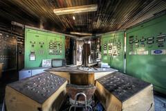 The control (Michal Seidl) Tags: abandoned factory heating plant control room industry hdr urbex czech opuštěná továrna fabrika velín kotelna teplárna