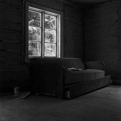 Pancro400/D76/RolleicordIV (Jonas.Nilsson) Tags: abandoned bergger pancro400 d76 homemadedeveloper iamfilm filmphotography film filmisnotdead rolleicordiv xenar blackandwhite bw believeinfilm mediumformat mf monochrome windowlight naturallight square 6x6 120film rollfilm sweden