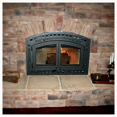 Superior WCT6840 Wood Burning Fireplace, Dayton, TN.