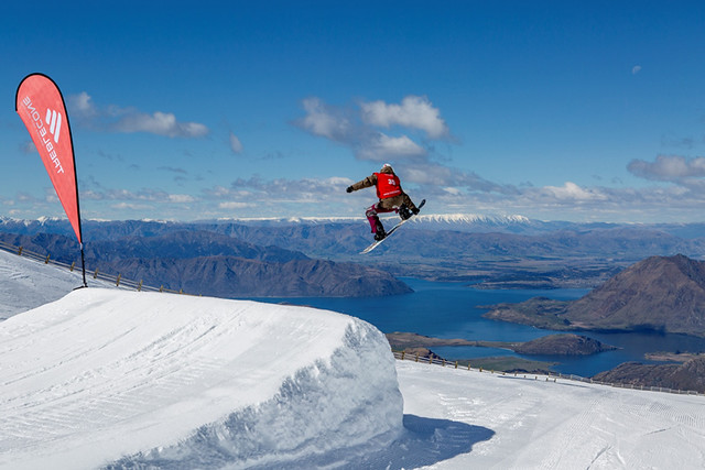 BASE Triple Comp Jump, Treble Cone NZ (14 September 2013)
