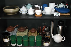 Tea Shelves @ Work
