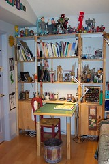 Family Room Workspace - DONE! (Terry.Tyson) Tags: art studio 2006 t2 lasposas