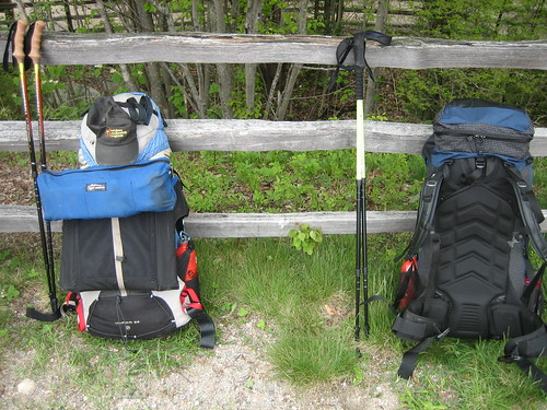 backpacking gregory loaded internalframe