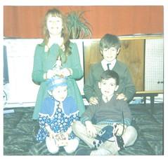 1972 (MissElaine~eous) Tags: uk england vintage cousins pippa 1970s actionman
