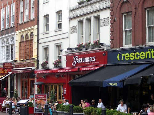 Leicester Square restaurants