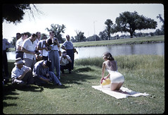 Kodachrome 1957 (Zmanphoto) Tags: vintage found photographers retro 1957 50s kodachrome pinup