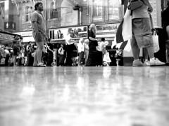 Charing Cross floor ([fakey]) Tags: blackandwhite london charingcross fakey