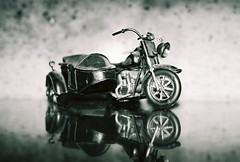 Vroom (melanie.phung) Tags: blackandwhite toys miniature models favorites filmcamera interestingness469 i500 melaniephung explore10june06