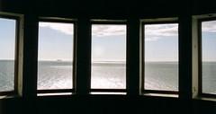 Swedish coast (smurfie_77) Tags: ocean windows lighthouse silhouette coast sweden peaceful lpwindows vastrakullabergsnaturreservat