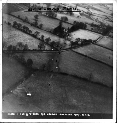 Avro Lancaster crash, Brampton, Cumbria