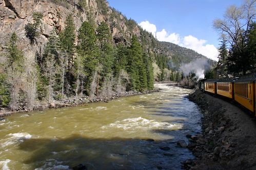Alongside the Animas River