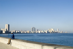 AFS-051040.jpg (Alex Segre) Tags: city travel sea people man male wall skyline coast seaside sitting cityscape waterfront horizon havana cuba front caribbean resting hr cuban lahabana elmalecon alexsegre
