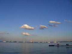 Sea and Sky (Little Niels) Tags: clouds copenhagen denmark oeresund