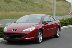 Peugeot 407 Coupé (storem) Tags: red car 407 coupe peugeot